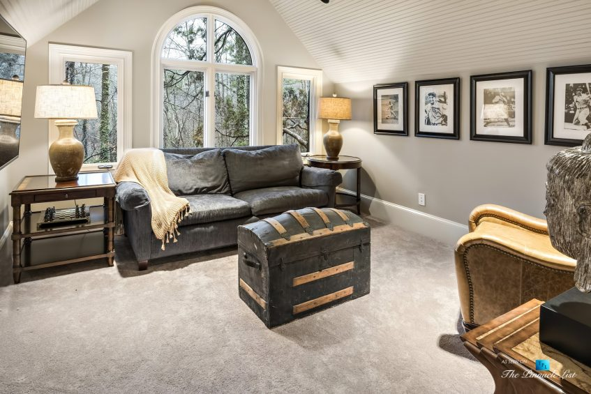 75 Finch Forest Trail, Atlanta, GA, USA - Sitting Room - Luxury Real Estate - Sandy Springs Home