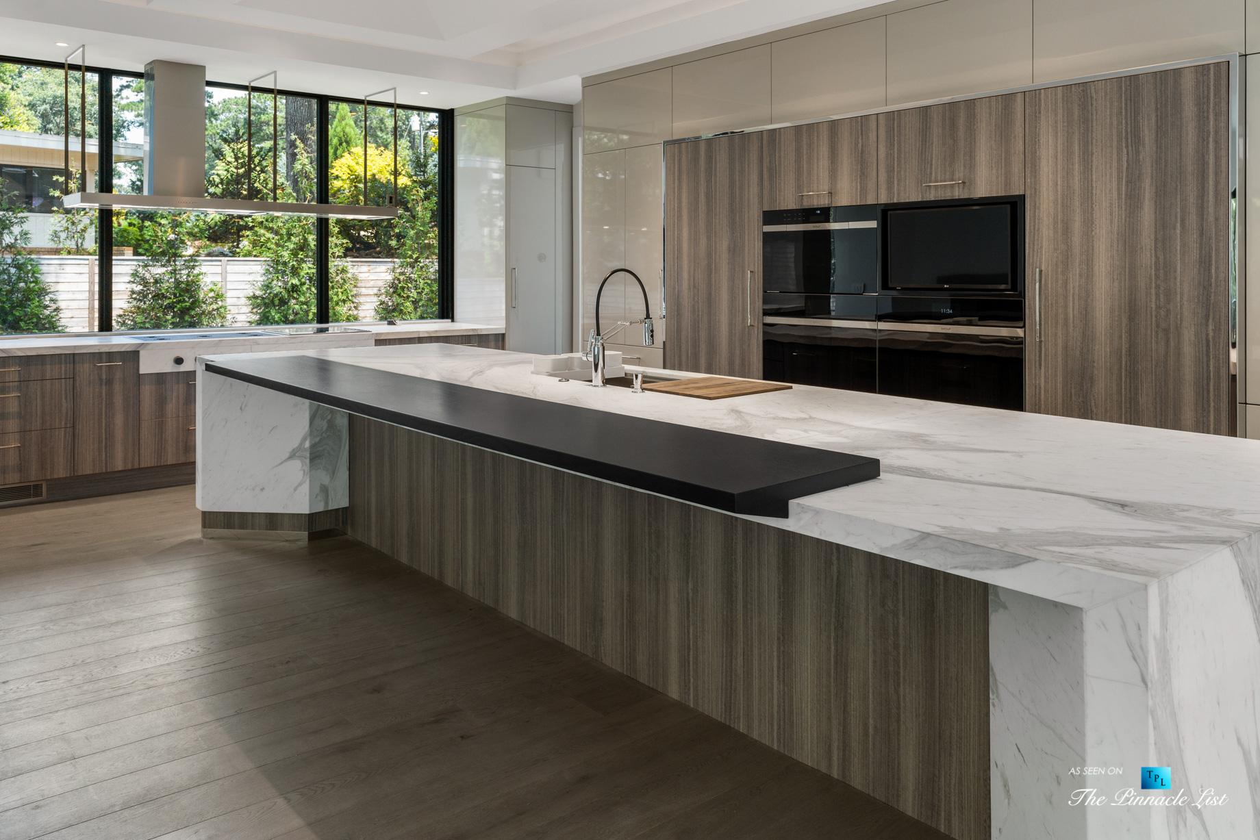 2716 Ridgewood Rd NW, Atlanta, GA, USA – Kitchen – Luxury Real Estate – Modern Contemporary Buckhead Home
