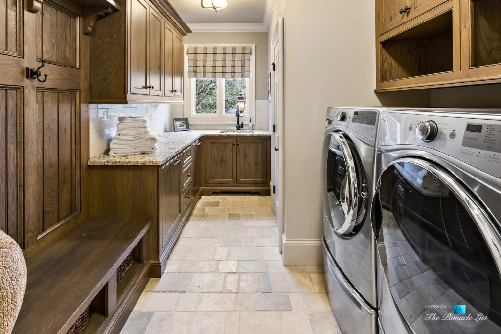 75 Finch Forest Trail, Atlanta, GA, USA - Laundry Room - Luxury Real Estate - Sandy Springs Home