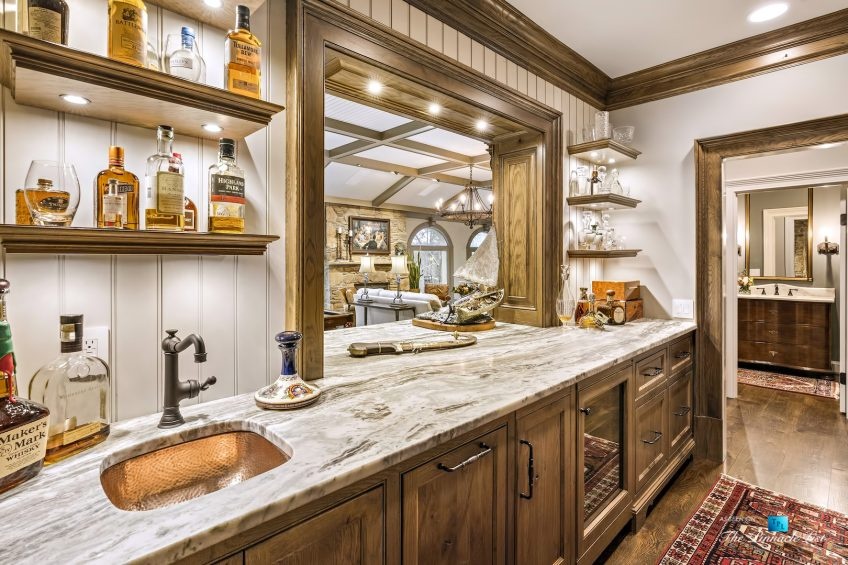 75 Finch Forest Trail, Atlanta, GA, USA - Bar - Luxury Real Estate - Sandy Springs Home