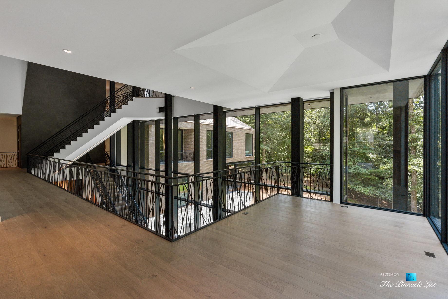 2716 Ridgewood Rd NW, Atlanta, GA, USA – Stairs – Luxury Real Estate – Modern Contemporary Buckhead Home