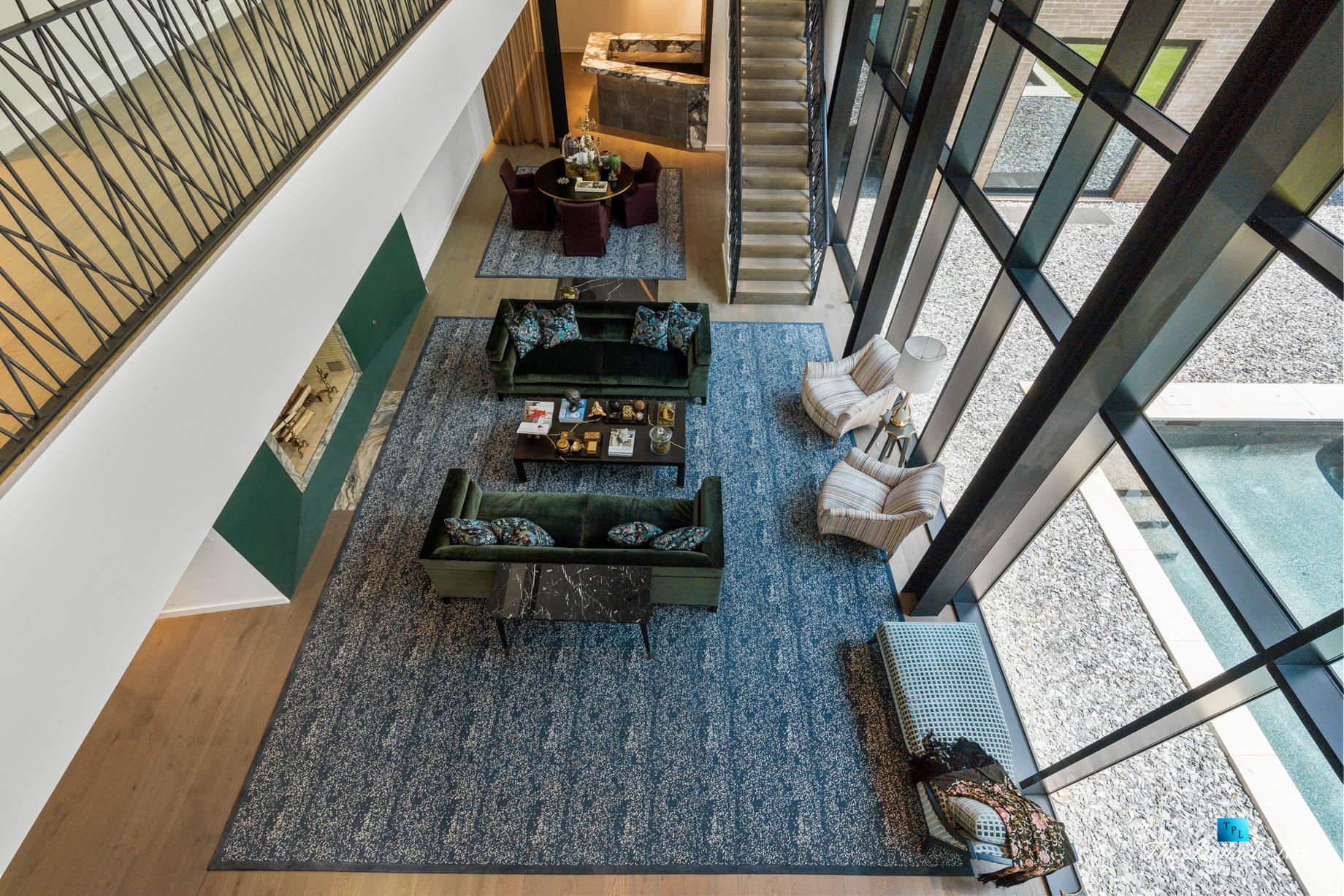 2716 Ridgewood Rd NW, Atlanta, GA, USA - Living Room - Luxury Real Estate - Modern Contemporary Buckhead Home