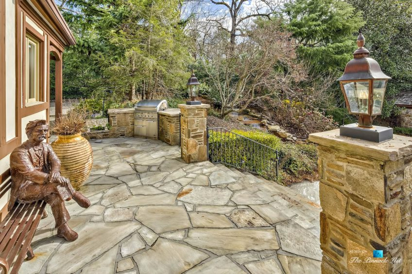 75 Finch Forest Trail, Atlanta, GA, USA - Outdoor Patio and Stairs - Luxury Real Estate - Sandy Springs Home