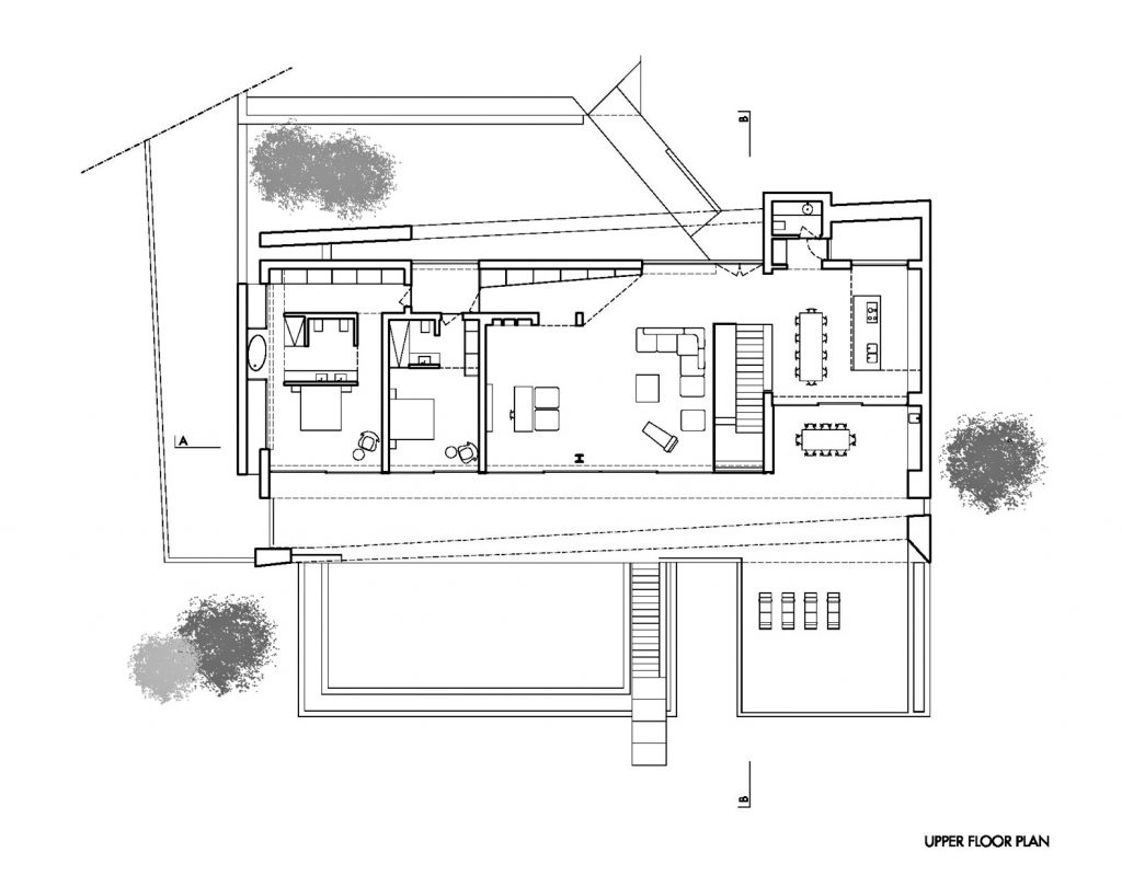 Upper Floor Plan - Casa Carrara Luxury Residence - Praia da Luz, Algarve, Portugal
