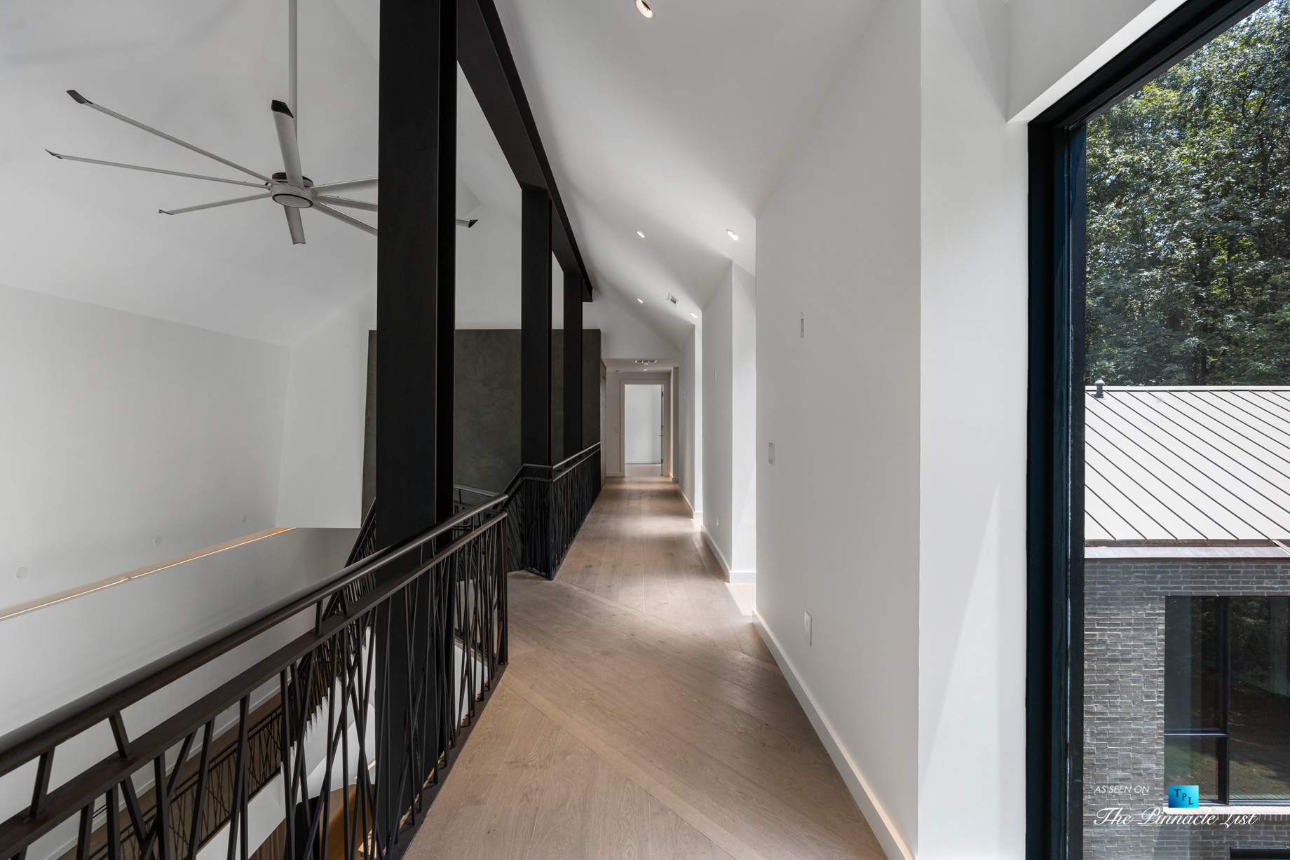 2716 Ridgewood Rd NW, Atlanta, GA, USA - Artistic Stairs - Luxury Real Estate - Modern Contemporary Buckhead Home