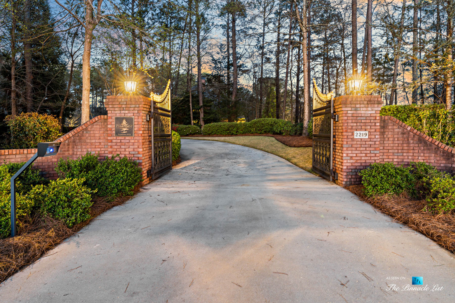 2219 Costley Mill Rd NE, Conyers, GA, USA - Front Gate - Luxury Real Estate - Equestrian Country Home
