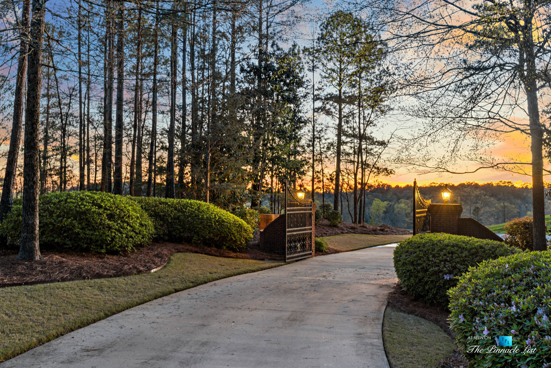 2219 Costley Mill Rd NE, Conyers, GA, USA – Front Gate – Luxury Real Estate – Equestrian Country Home