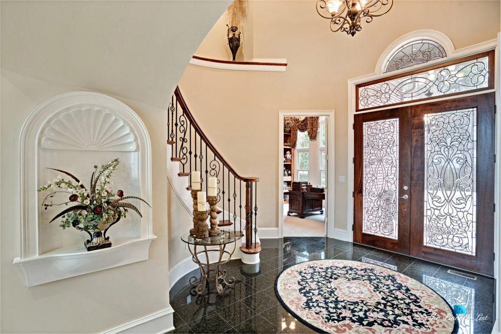 2219 Costley Mill Rd NE, Conyers, GA, USA - Front Door Foyer - Luxury Real Estate - Equestrian Country Home
