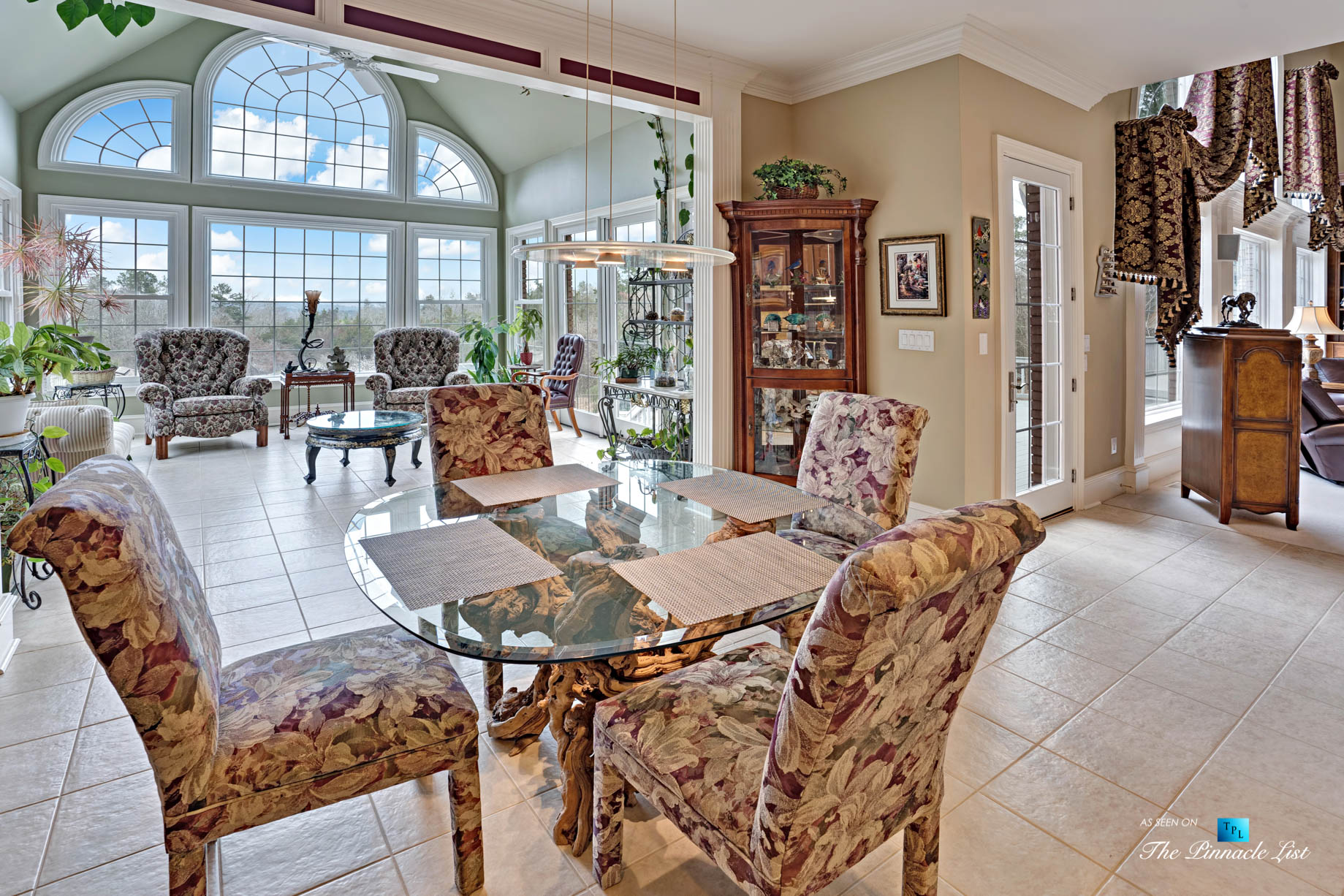 2219 Costley Mill Rd NE, Conyers, GA, USA – Dining Room – Luxury Real Estate – Equestrian Country Home