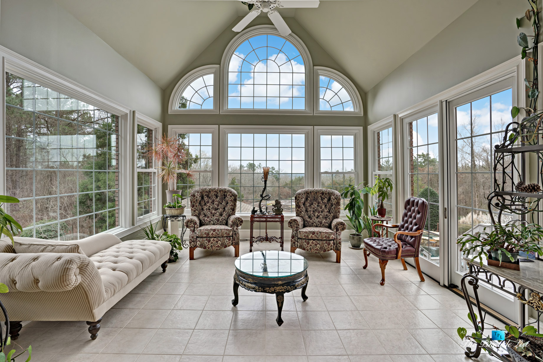 2219 Costley Mill Rd NE, Conyers, GA, USA – Sun Room – Luxury Real Estate – Equestrian Country Home