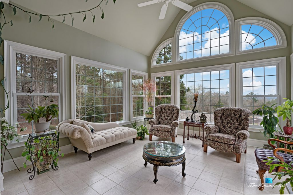 2219 Costley Mill Rd NE, Conyers, GA, USA - Sun Room - Luxury Real Estate - Equestrian Country Home