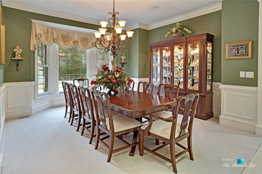 2219 Costley Mill Rd NE, Conyers, GA, USA - Dining Room - Luxury Real Estate - Equestrian Country Home