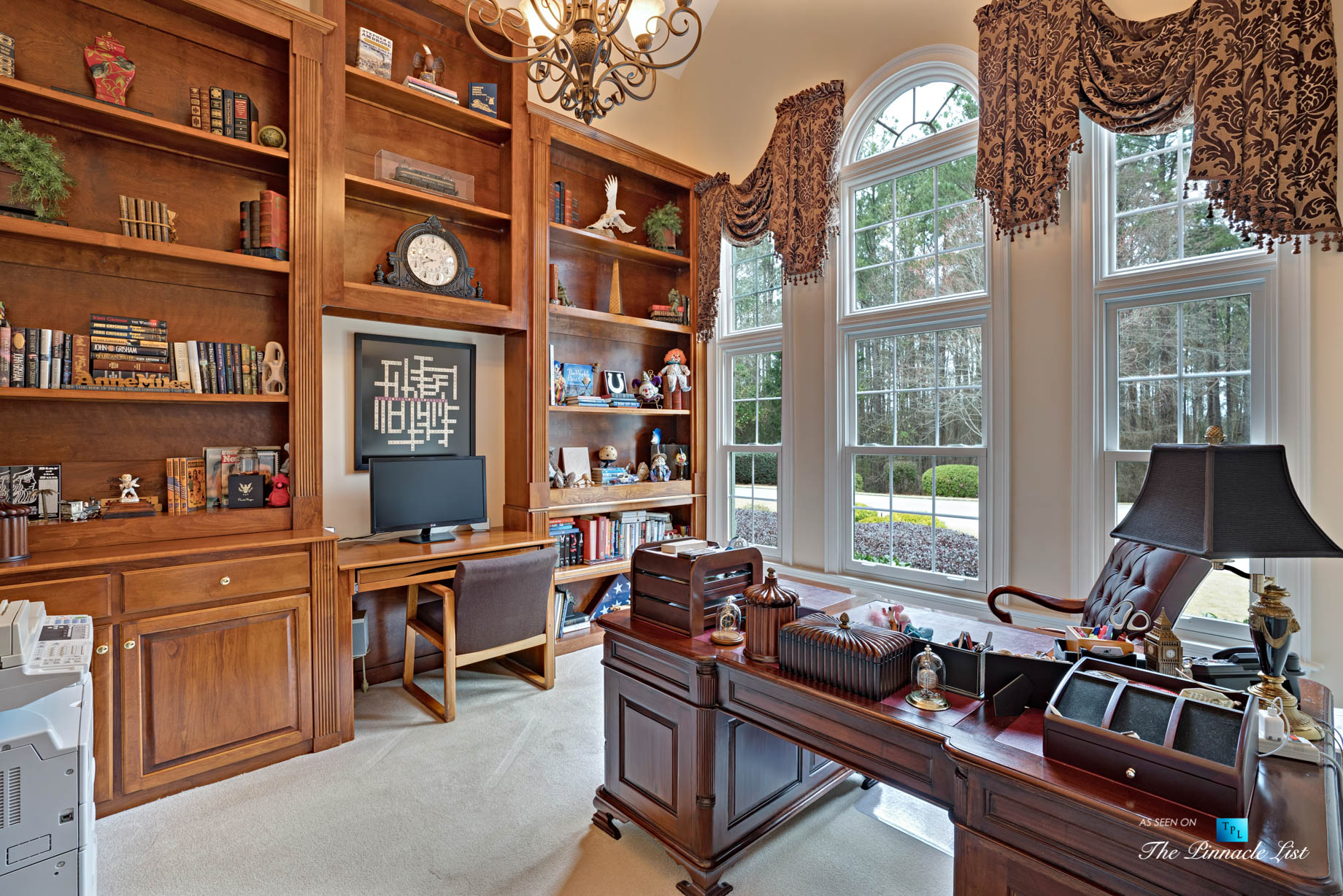 2219 Costley Mill Rd NE, Conyers, GA, USA - Private Office - Luxury Real Estate - Equestrian Country Home