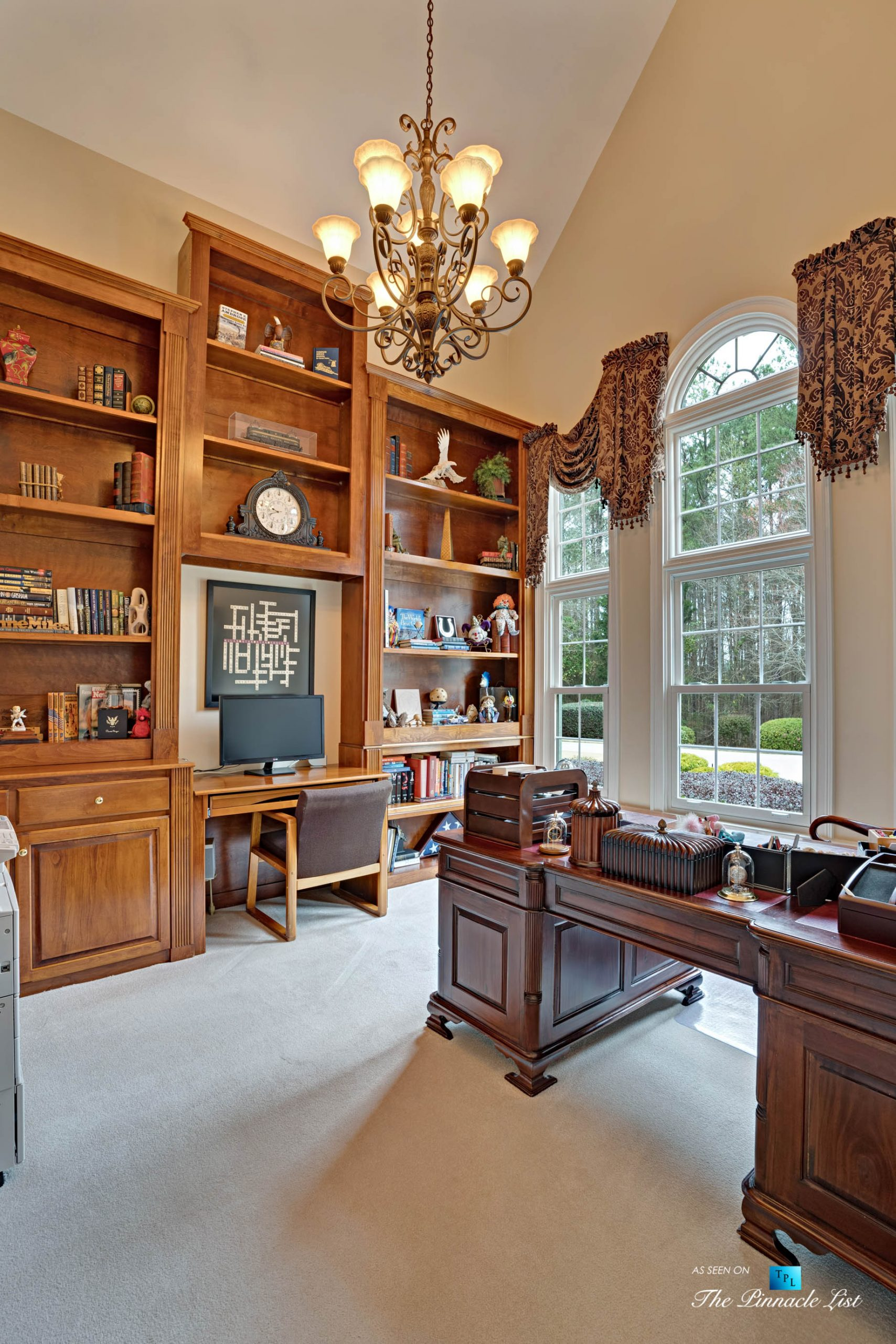 2219 Costley Mill Rd NE, Conyers, GA, USA – Private Office – Luxury Real Estate – Equestrian Country Home