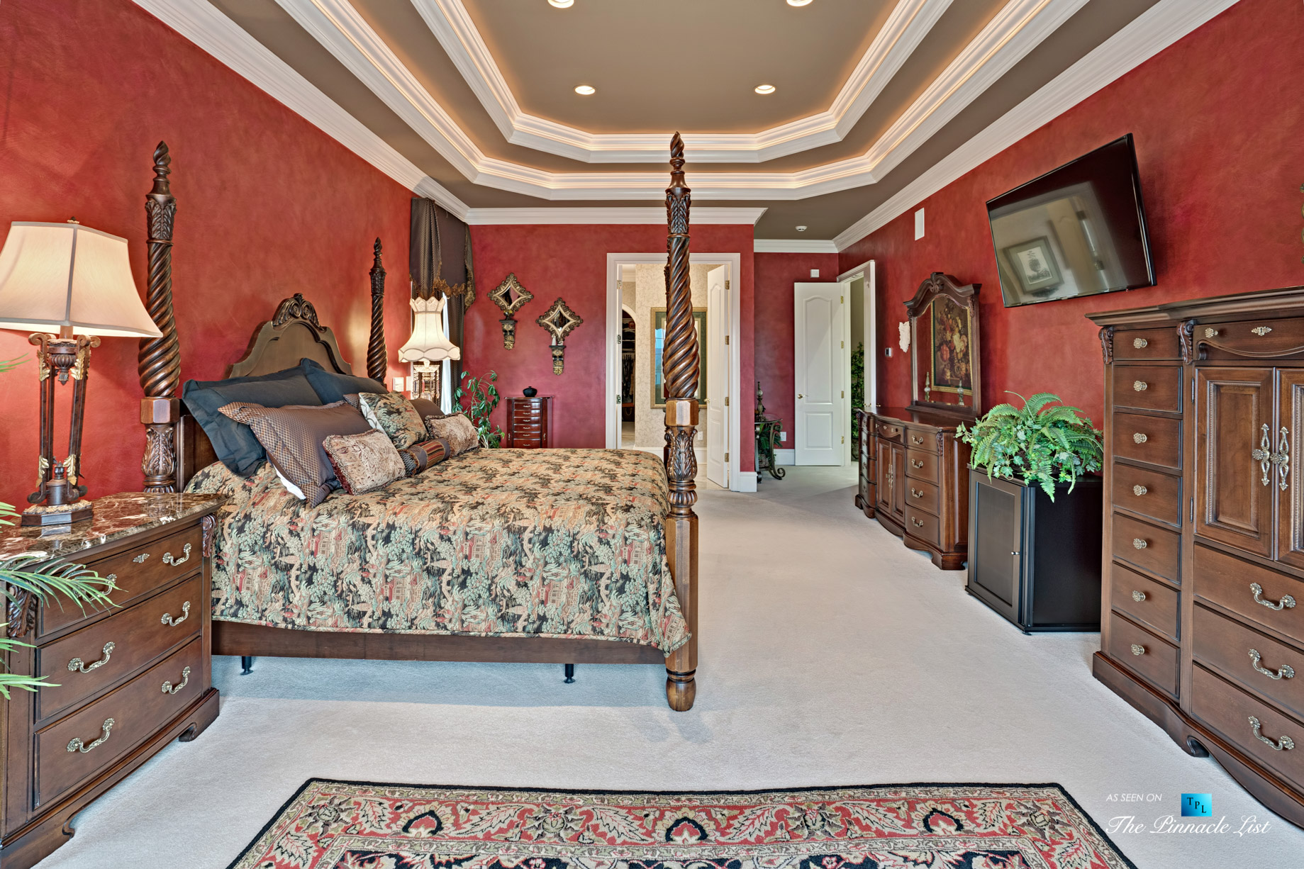 2219 Costley Mill Rd NE, Conyers, GA, USA – Master Bedroom – Luxury Real Estate – Equestrian Country Home