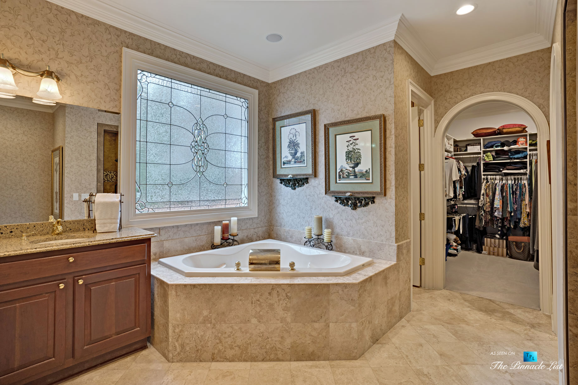 2219 Costley Mill Rd NE, Conyers, GA, USA – Master Bathroom – Luxury Real Estate – Equestrian Country Home