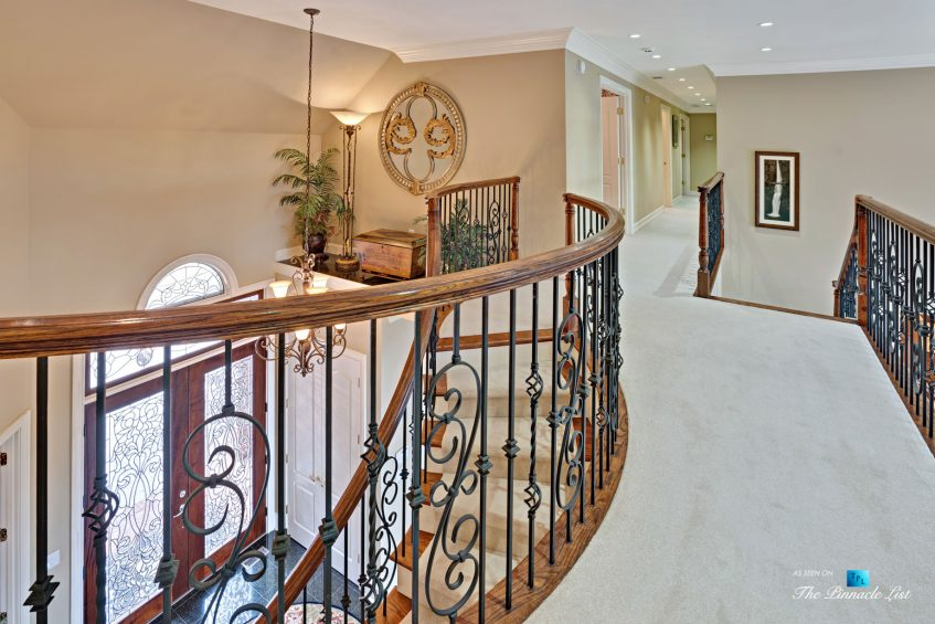 2219 Costley Mill Rd NE, Conyers, GA, USA - Upper Hallway and Stairs - Luxury Real Estate - Equestrian Country Home