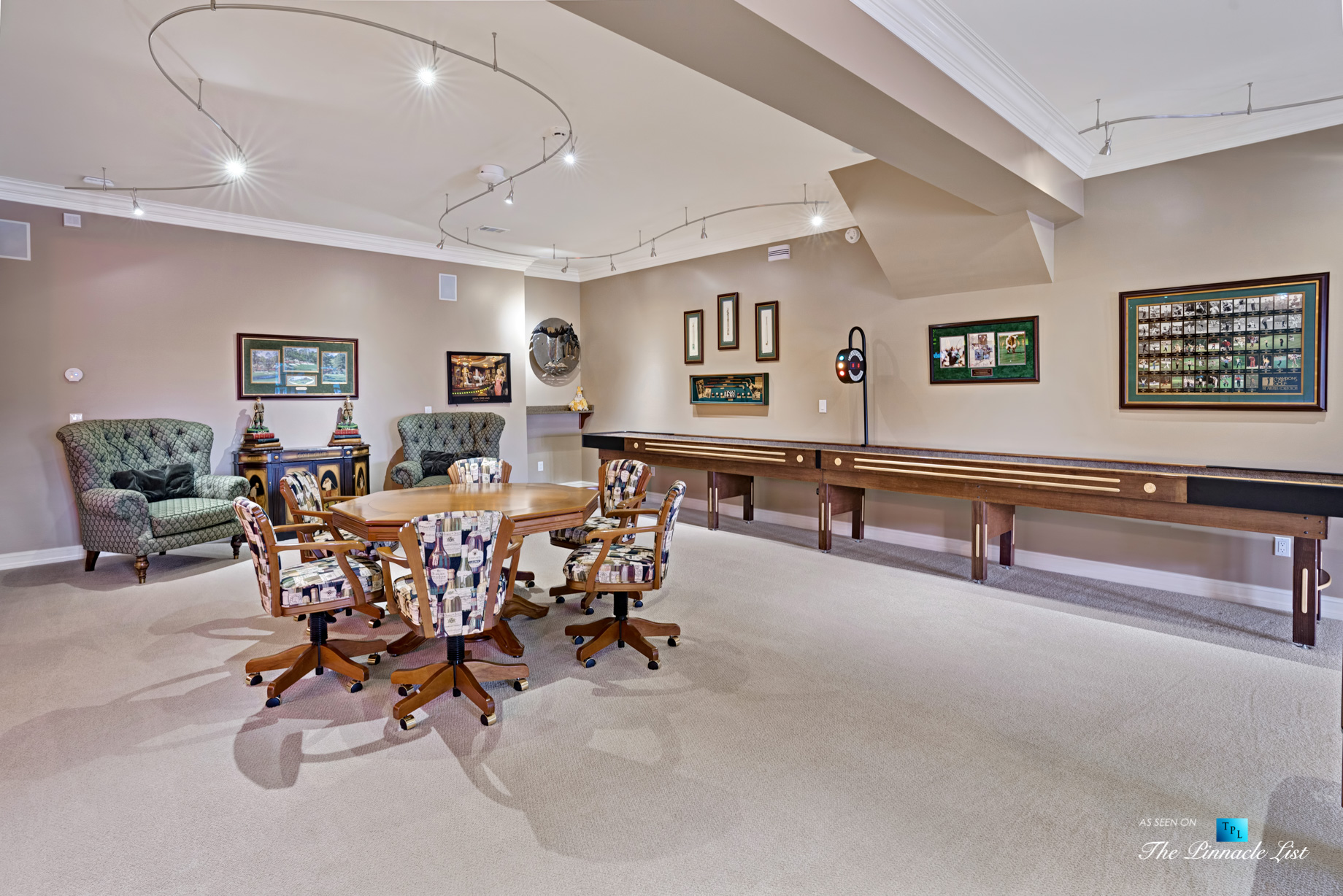 2219 Costley Mill Rd NE, Conyers, GA, USA – Entertainment Room – Luxury Real Estate – Equestrian Country Home