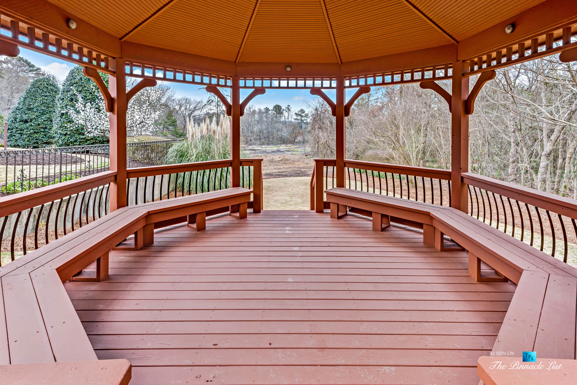 2219 Costley Mill Rd NE, Conyers, GA, USA – Backyard Gazebo – Luxury Real Estate – Equestrian Country Home