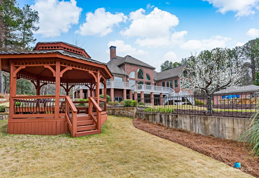 2219 Costley Mill Rd NE, Conyers, GA, USA - Backyard Gazebo - Luxury Real Estate - Equestrian Country Home