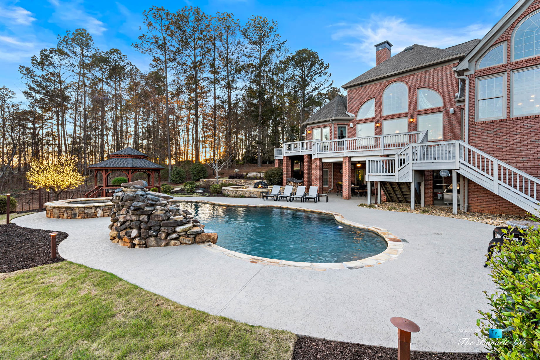 2219 Costley Mill Rd NE, Conyers, GA, USA - Backyard Pool - Luxury Real Estate - Equestrian Country Home
