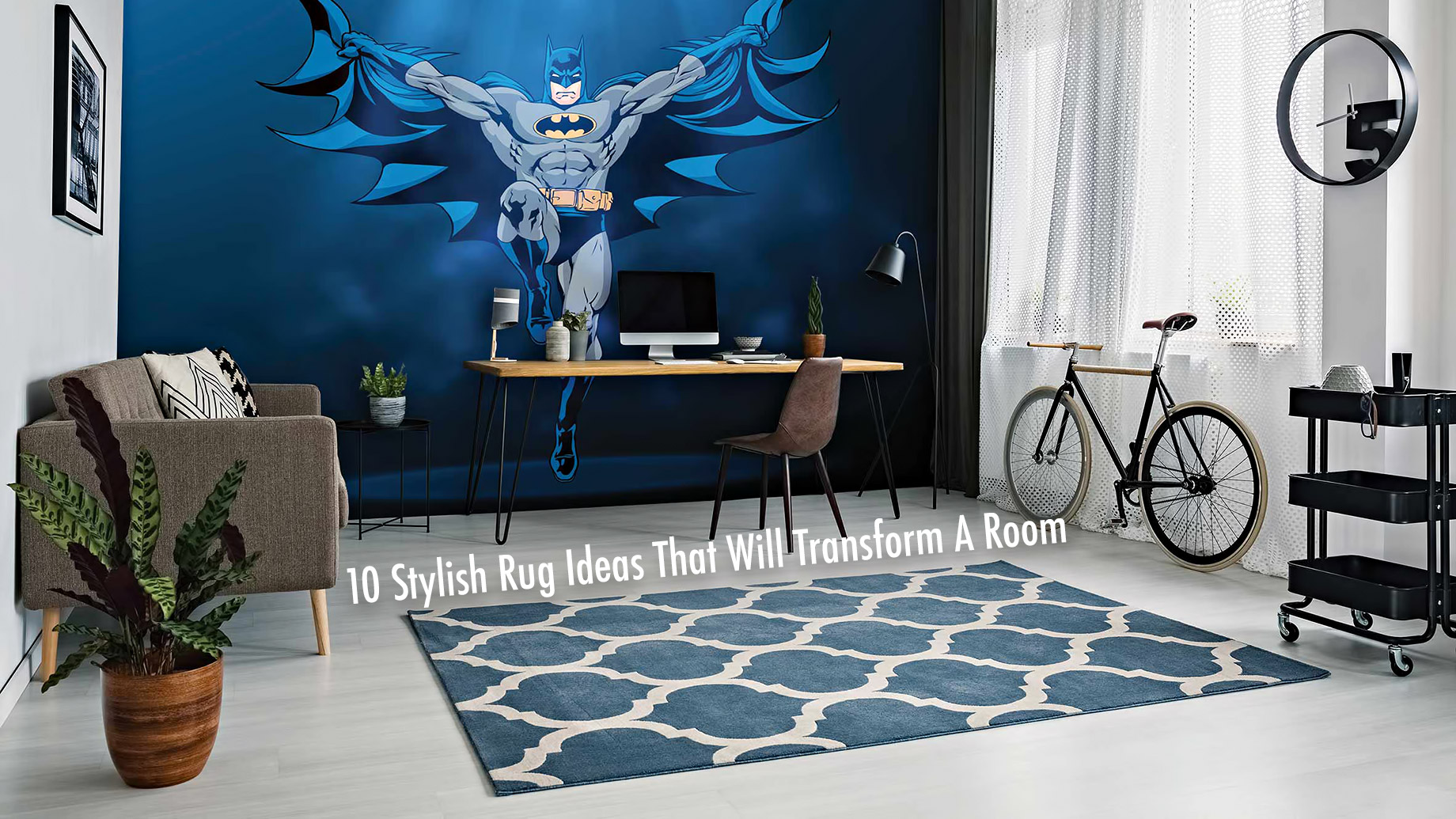 Interior Design and Décor - 10 Stylish Rug Ideas That Will Transform A Room