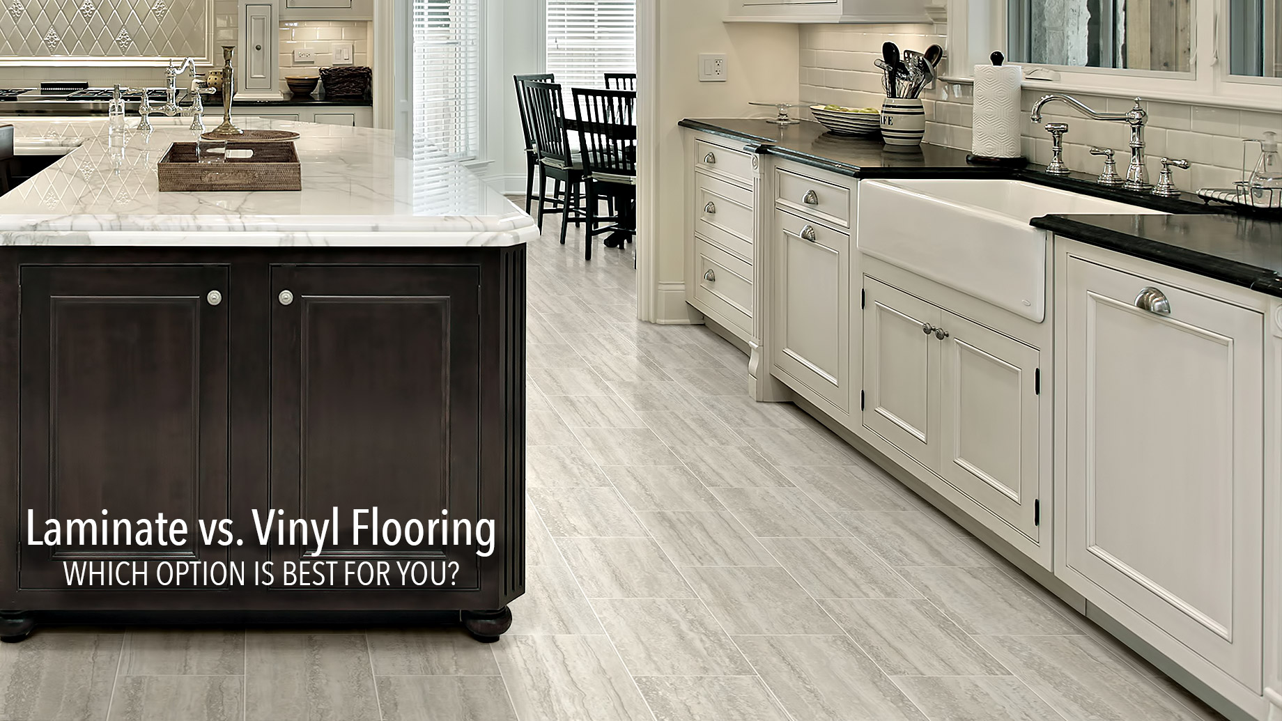 Laminate vs. Vinyl Flooring - Which Option is Best for You?