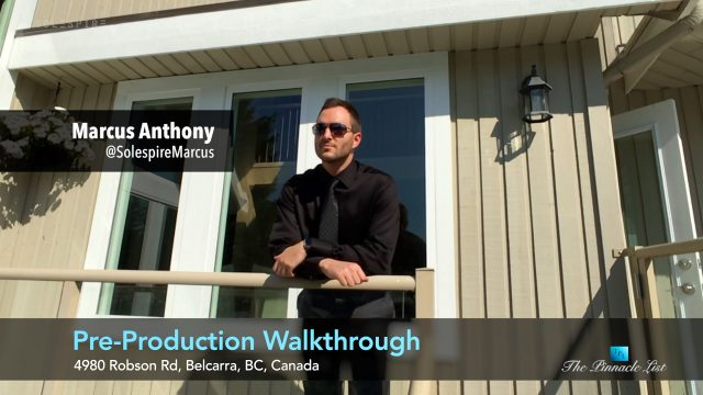 Pre-Production Walkthrough - Marcus Anthony - 4980 Robson Rd, Belcarra, BC, Canada