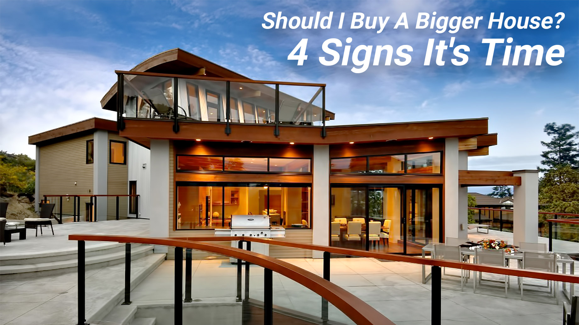 Should I Buy A Bigger House? 4 Signs It's Time