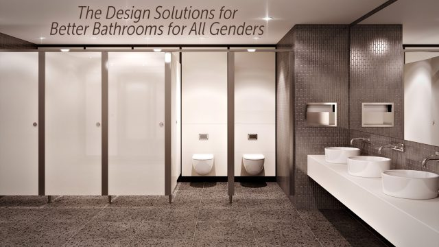 Toilet Partitions - The Design Solutions for Better Bathrooms for All Genders