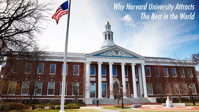 Why Harvard University Attracts The Best in the World