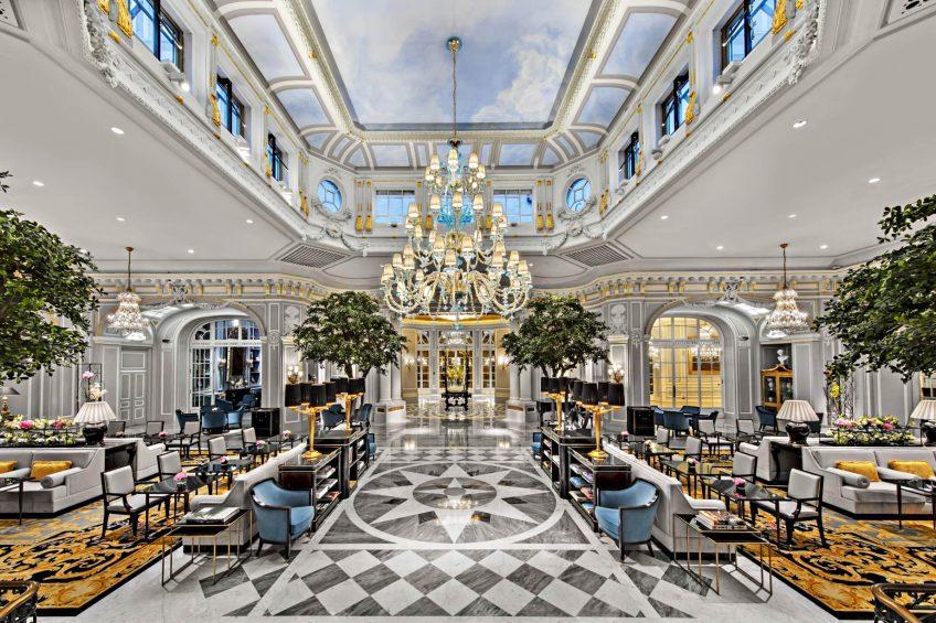 The St. Regis Rome Luxury Hotel - Rome, Italy - Grand Lobby
