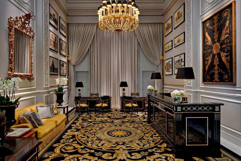 The St. Regis Rome Luxury Hotel - Rome, Italy - Reception Concierge