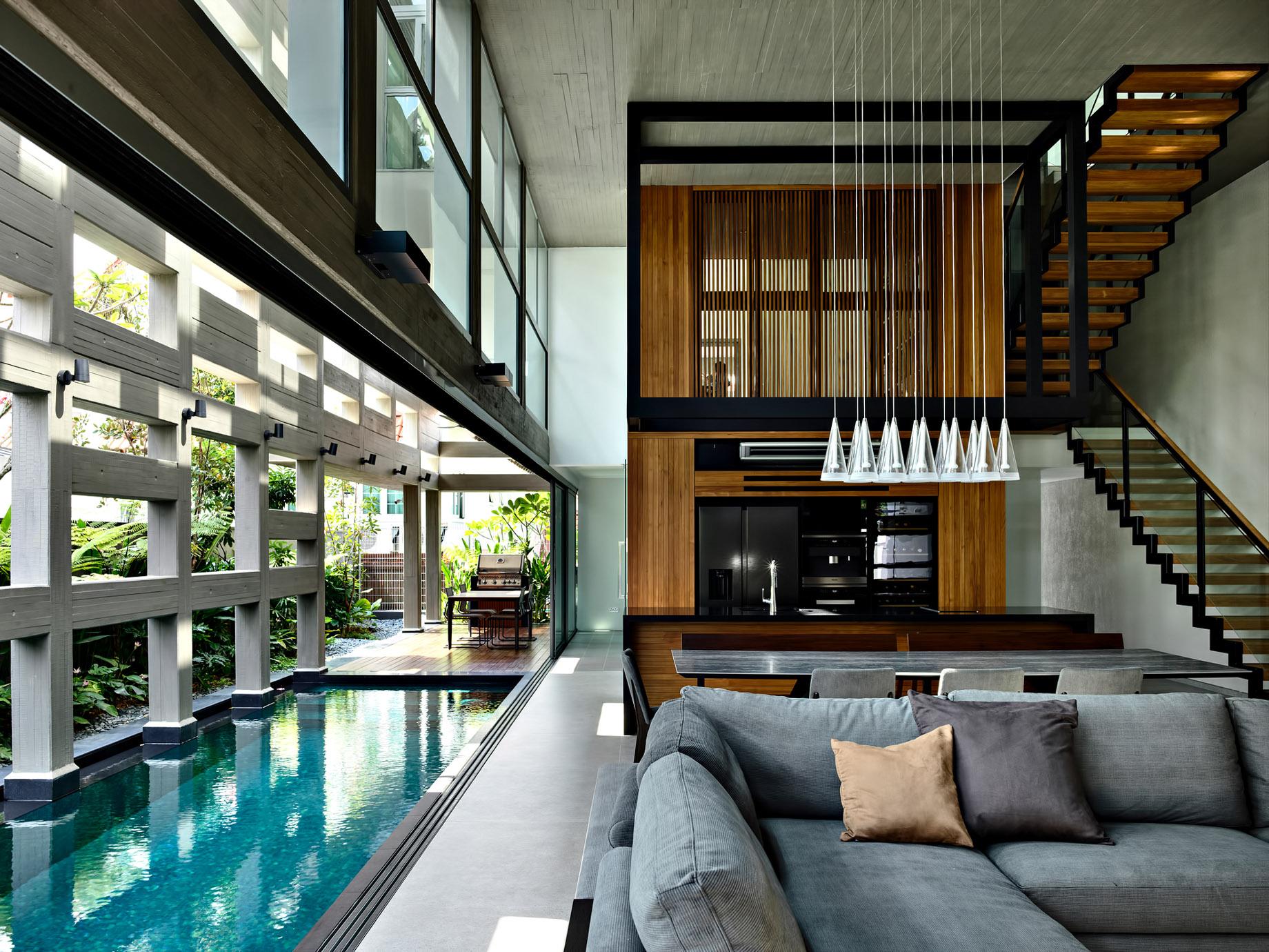 Concrete Light House Residence – Greenleaf Drive, Singapore