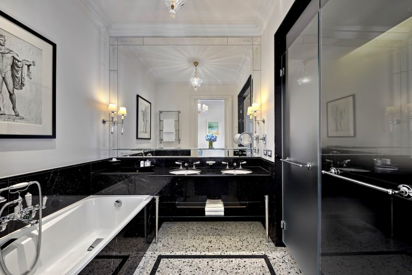 The St. Regis Rome Luxury Hotel - Rome, Italy - Imperial Room Bathroom