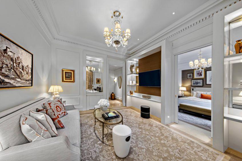 The St. Regis Rome Luxury Hotel - Rome, Italy - St. Regis Suite Living Area