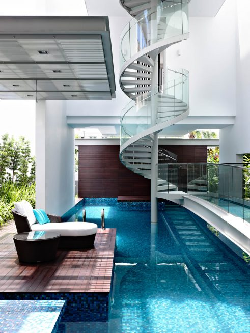 Bridge Over Water House - Jalan Angin Laut, Singapore