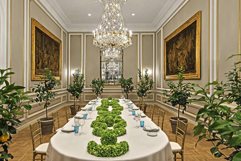 The St. Regis Rome Luxury Hotel - Rome, Italy - Borromeo Ballroom
