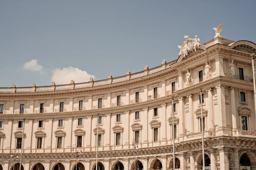 The St. Regis Rome Luxury Hotel - Rome, Italy - Nearby Attraction Piazza della Repubblica
