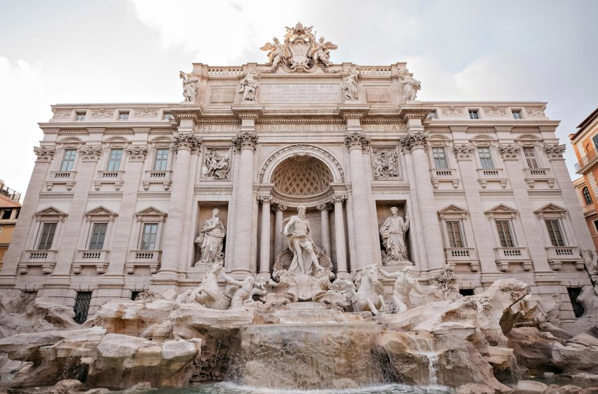 The St. Regis Rome Luxury Hotel - Rome, Italy - Nearby Attraction Fontana di Trevi