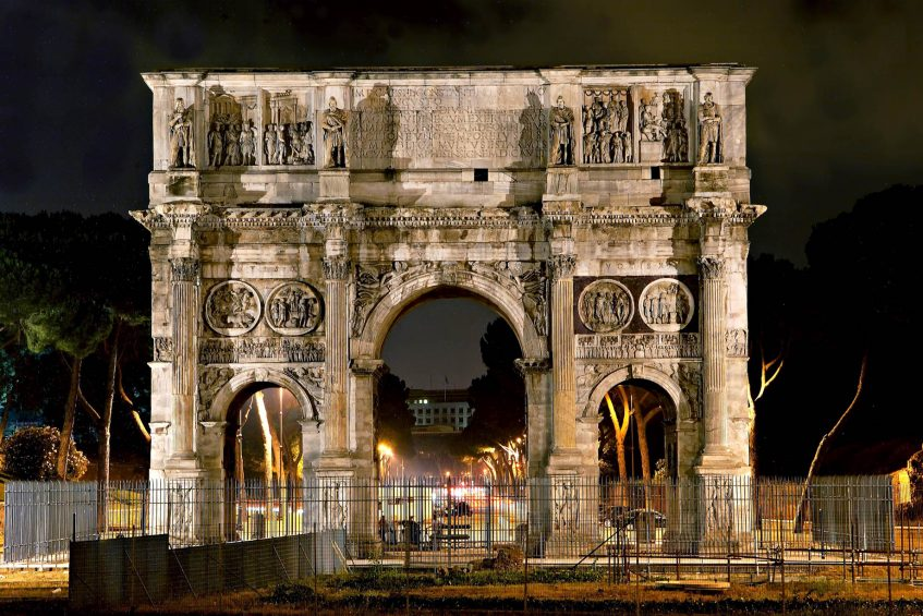 The St. Regis Rome Luxury Hotel - Rome, Italy - Nearby Attraction Arch of Constantine