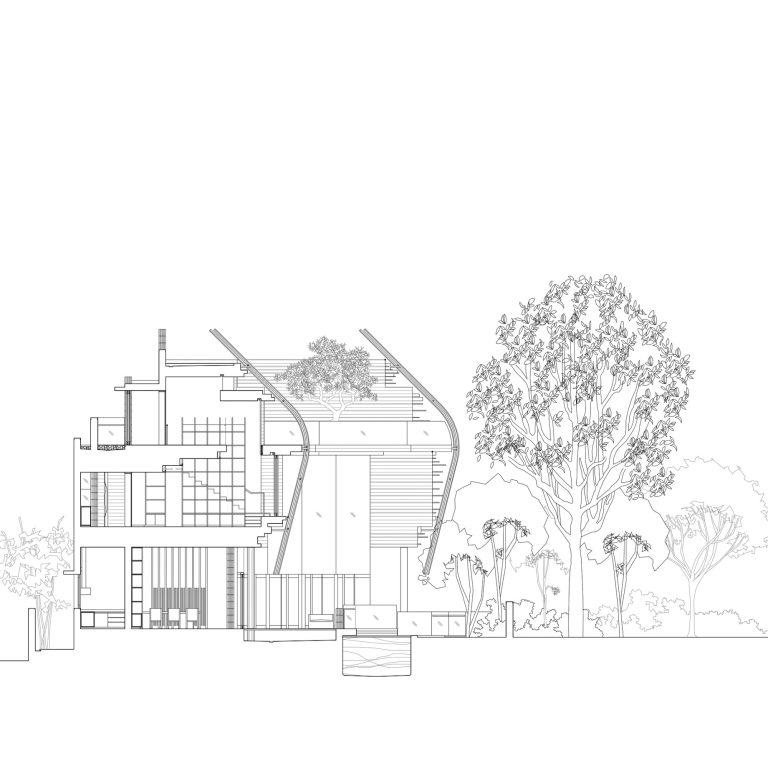 Elevation – Nest House Luxury Residence – Jalan Sejarah, Singapore