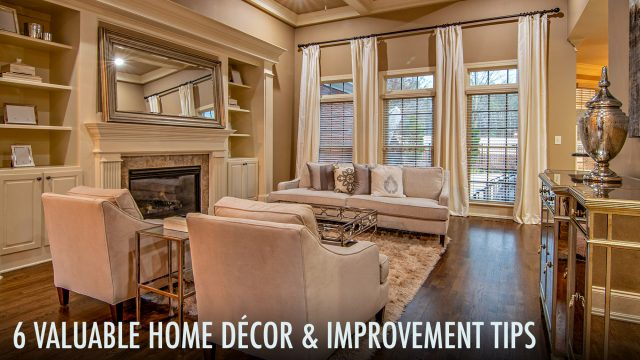 6 Valuable Home Décor & Improvement Tips to Improve Curb Appeal