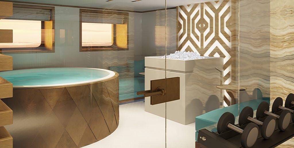 La Datcha - Tinkoff Collection's New Luxury Superyacht - SDB