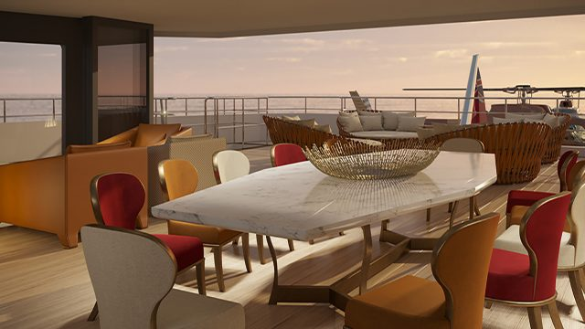 La Datcha - Tinkoff Collection's New Luxury Superyacht - Dining