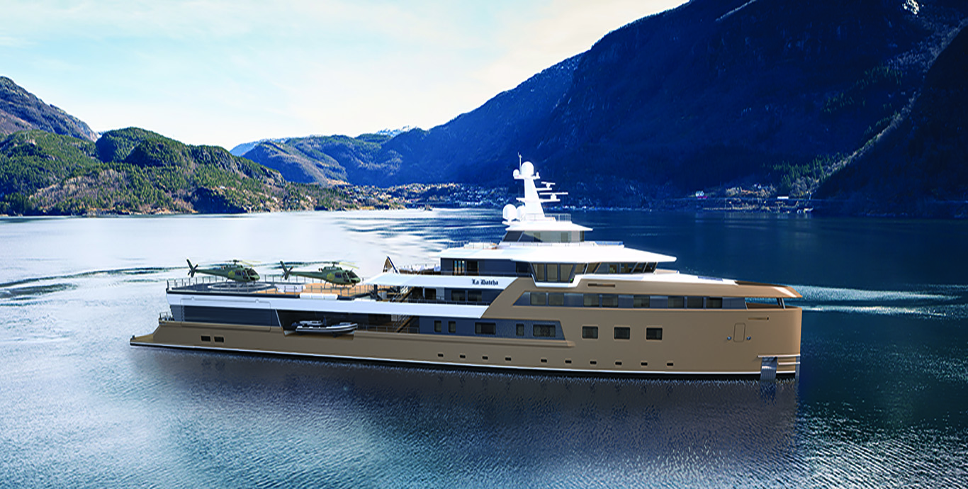 La Datcha - Tinkoff Collection's New Luxury Superyacht - Profile
