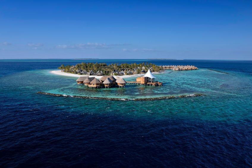 The Nautilus Maldives Luxury Resort - Thiladhoo Island, Maldives - Aerial View