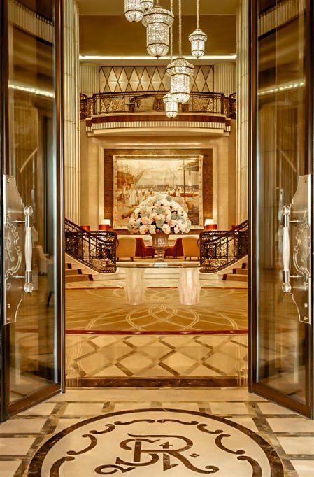 The St. Regis Abu Dhabi Luxury Hotel - Abu Dhabi, United Arab Emirates - Front Entrance