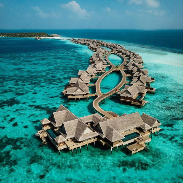 Joali Maldives Luxury Resort - Muravandhoo Island, Maldives - Aerial