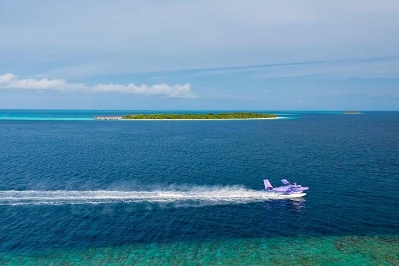The Nautilus Maldives Luxury Resort - Thiladhoo Island, Maldives - Seaplane Landing